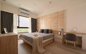 富裕型60平米现代简约风格卧室图
