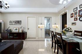 80平米三室两厅美式风格餐厅装修图片大全