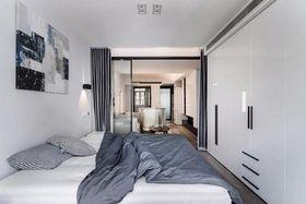 50平米小户型现代简约风格卧室图