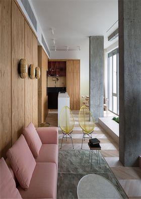 140平米三室一厅东南亚风格客厅装修效果图