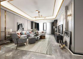 140平米三混搭风格客厅设计图