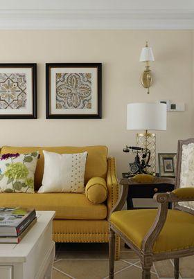 130平米三室两厅法式风格客厅装修效果图