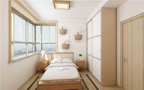120平米三日式風格臥室裝修圖片大全