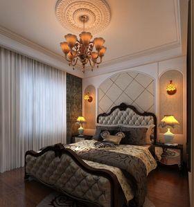 经济型90平米三室一厅混搭风格卧室欣赏图