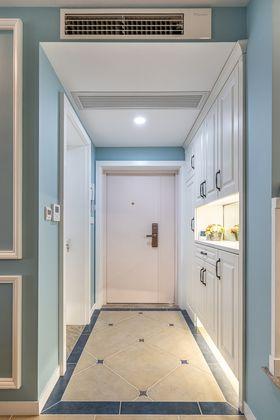 100平米三室两厅美式风格玄关装修效果图