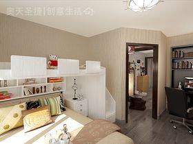经济型40平米小户型混搭风格卧室装修案例