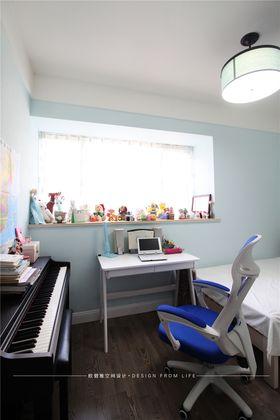 140平米三室两厅混搭风格儿童房装修案例