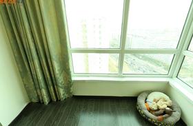 豪华型100平米三室一厅欧式风格阳台效果图