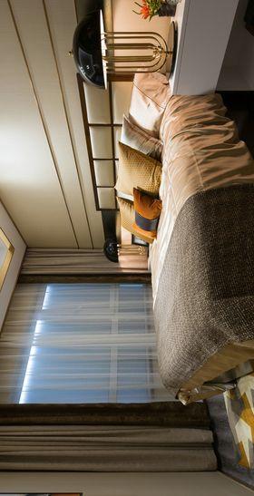 90平米三室两厅现代简约风格卧室装修图片大全