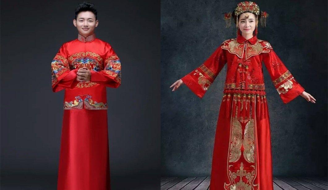 中式礼服的正确打开方式是这样的