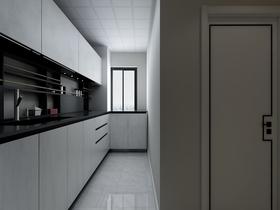 90平米中式风格厨房装修案例
