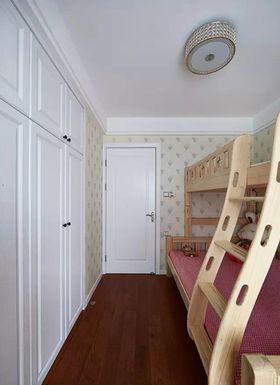 富裕型100平米三室两厅现代简约风格儿童房图