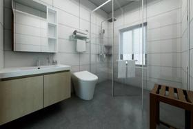 120平米三中式风格卫生间装修效果图