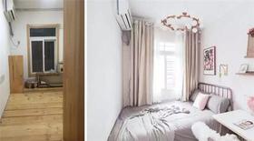 50平米公寓宜家风格卧室图