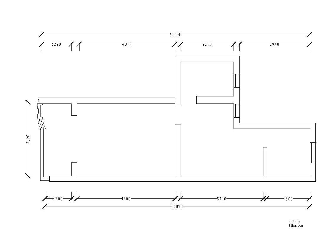 家装电路按房间分组图