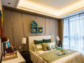 富裕型120平米三室两厅混搭风格儿童房图