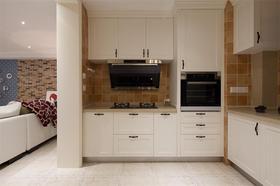 100平米三室两厅现代简约风格厨房图片大全