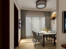 110平米三室两厅中式风格餐厅欣赏图