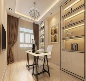 130平米四欧式风格书房设计图