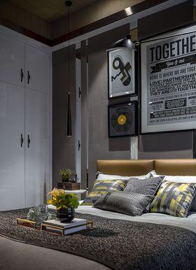 130平米三室三厅现代简约风格卧室装修图片大全