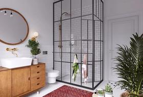 50平米一居室现代简约风格卫生间效果图