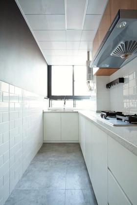 80平米北歐風格廚房圖片大全