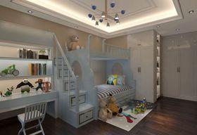 140平米三室两厅中式风格儿童房欣赏图