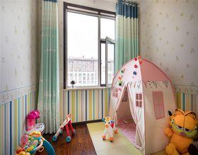 90平米中式风格儿童房设计图