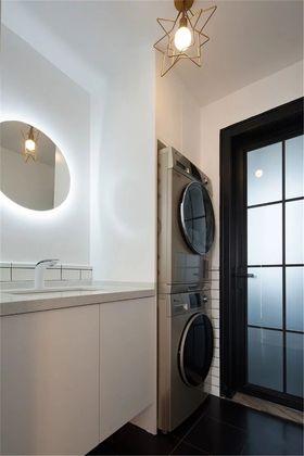 140平米三室两厅北欧风格卫生间欣赏图
