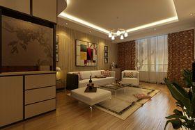 经济型90平米现代简约风格客厅装修效果图