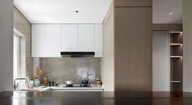 130平米三室两厅现代简约风格厨房图片大全