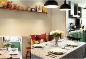 20万以上140平米四室两厅混搭风格餐厅装修图片大全