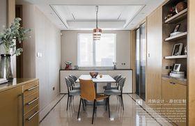130平米三现代简约风格餐厅图片大全