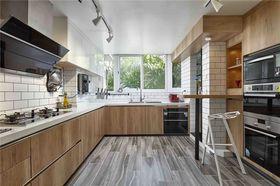 140平米三室两厅混搭风格厨房欣赏图