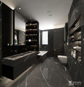 140平米別墅現代簡約風格衛生間裝修圖片大全
