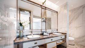 140平米复式中式风格卫生间设计图