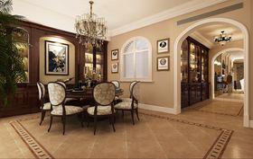 豪华型140平米四室两厅美式风格餐厅设计图