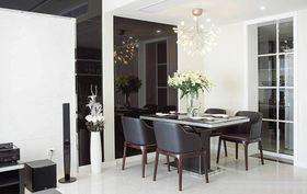 120平米三现代简约风格餐厅效果图