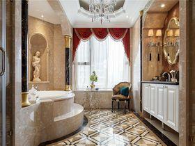 100平米三室一厅法式风格卫生间图