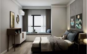 100平米现代简约风格卧室装修图片大全
