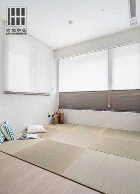 90平米日式风格影音室效果图
