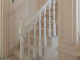 豪华型130平米三室一厅法式风格楼梯设计图