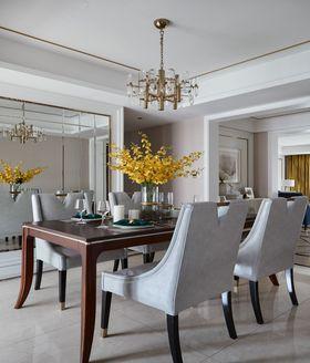 富裕型130平米四室两厅北欧风格餐厅装修效果图