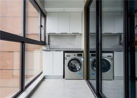 140平米公寓现代简约风格阳台效果图