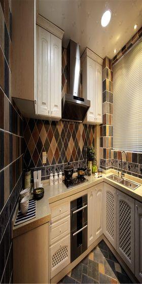 140平米四地中海风格厨房装修案例