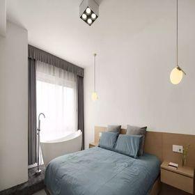 120平米现代简约风格卧室图片大全