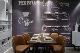80平米三室一厅北欧风格餐厅图片