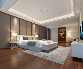 豪華型140平米別墅中式風格臥室裝修圖片大全