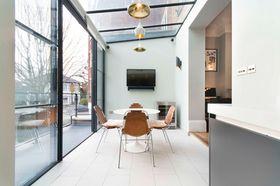 100平米三室一厅混搭风格阳台效果图