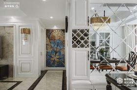 120平米三室兩廳美式風格餐廳圖